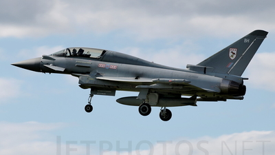 ZJ809 - Eurofighter Typhoon T.3 - United Kingdom - Royal Air Force (RAF)