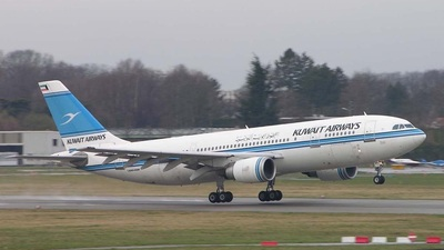 9K-AMA - Airbus A300B4-605R - Kuwait Airways