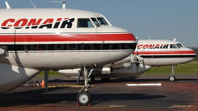 A picture of CFKFB - Convair CV580 - Conair - © Peter Unmuth