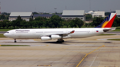 F-OHPL - Airbus A340-313X - Philippine Airlines
