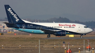 OY-APB - Boeing 737-5L9 - Sterling Airlines