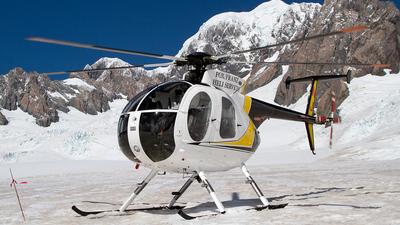 ZK-HNJ - Hughes 500D - Fox and Franz Josef Heliservices