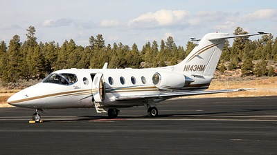 A picture of N143HM - Hawker Beechcraft 400XP - [RK205] - © DNA