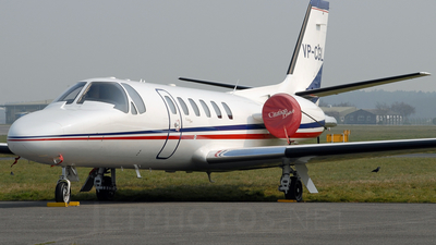 VP-CGL - Cessna 550B Citation Bravo - Private