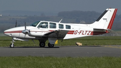 G-FLTZ - Beechcraft 58 Baron - Private