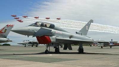 ZJ808 - Eurofighter Typhoon T.1 - United Kingdom - Royal Air Force (RAF)