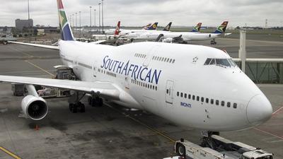 ZS-SAZ - Boeing 747-444 - South African Airways
