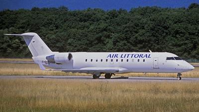 F-GLIY - Bombardier CRJ-100ER - Air Littoral