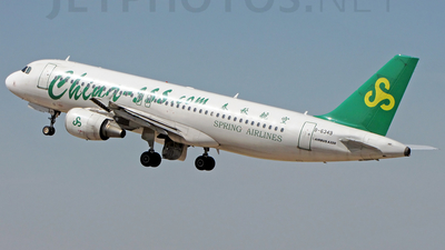 B-6349 - Airbus A320-214 - Spring Airlines