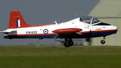 G-BWEB - Hunting Percival Jet Provost T.5A - Private