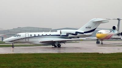 N21HE - Cessna 750 Citation X - Private