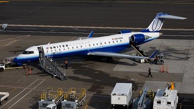 N743SK - Bombardier CRJ-701 - United Express (SkyWest Airlines)