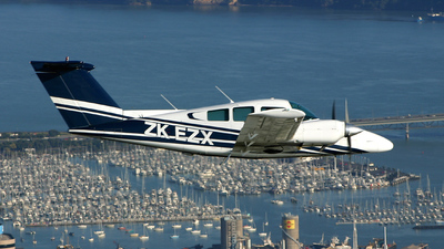 ZK-EZX - Beechcraft 76 Duchess - Ardmore Flying School