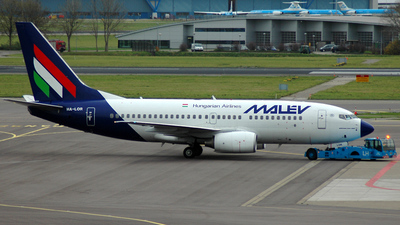 HA-LOR - Boeing 737-7Q8 - Malév Hungarian Airlines