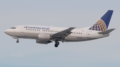 N16632 - Boeing 737-524 - Continental Airlines