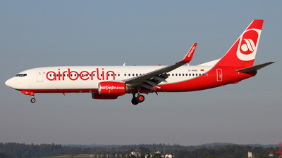 D-ABBI - Boeing 737-86J - Air Berlin