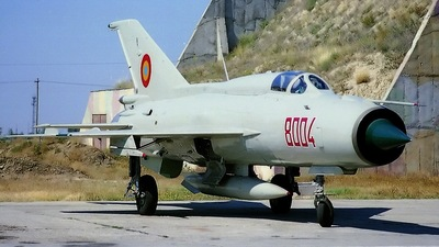 8004 - Mikoyan-Gurevich MiG-21PFM Fishbed - Romania - Air Force