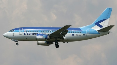 ES-ABC - Boeing 737-5Q8 - Estonian Air