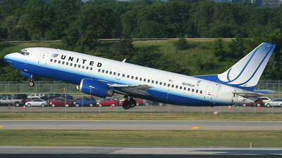 N374UA - Boeing 737-322 - United Airlines