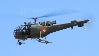 V-251 - Aérospatiale SA 316B Alouette III - Switzerland - Air Force
