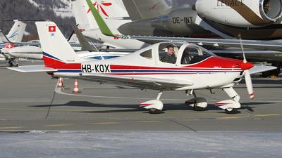 A picture of HBKOX - TecnamP2002JF - [058] - © Lutz Lehmann