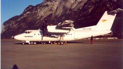 OE-LLU - De Havilland Canada DHC-7-102 Dash 7 - Tyrolean Airways
