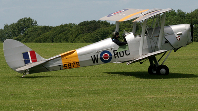 A picture of GAXBW - De Havilland DH82 Tiger Moth - [83595] - © Terry Figg
