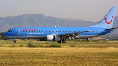 SE-DZH - Boeing 737-804 - Britannia Airways AB