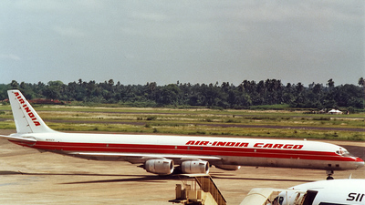 N816EV - Douglas DC-8-73(F) - Air India Cargo (Evergreen International Airlines)