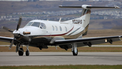 A picture of N529PS - Pilatus PC12/45 - [529] - © Mike MacKinnon