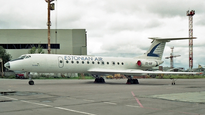 ES-AAF - Tupolev Tu-134A - Estonian Air