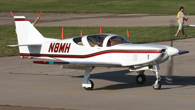A picture of N8MH - Amateur Glasair III - [3322] - © Bruce Leibowitz