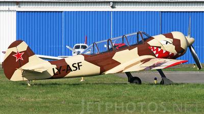 LY-ASF - Yakovlev Yak-52TD - Private