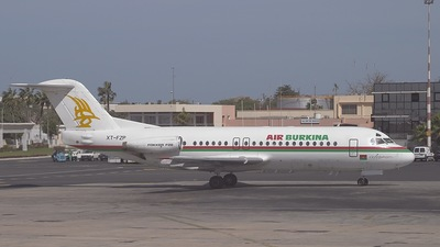 XT-FZP - Fokker F28-4000 Fellowship - Air Burkina