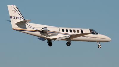 A picture of N177RJ - Cessna 550 Citation II - [5500550] - © Mark Abbott