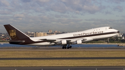 N675UP - Boeing 747-123(SF) - United Parcel Service (UPS)