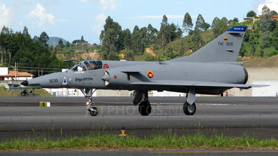 FAC3030 - Dassault Mirage 5COAM - Colombia - Air Force
