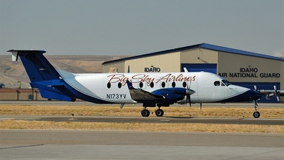 N173YV - Beech 1900D - Big Sky Airlines