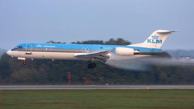 PH-OFH - Fokker 100 - KLM Cityhopper