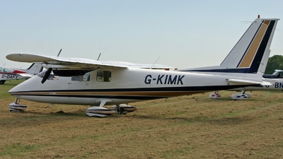 A picture of GKIMK - Partenavia P68B - [27] - © hjcurtis