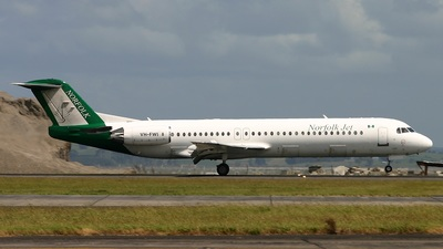 VH-FWI - Fokker 100 - Norfolk Jet Express (Alliance Airlines)