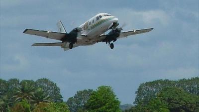 DQ-YES - Embraer EMB-110P2 Bandeirante - Air Fiji