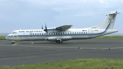 F-OHSF - ATR 72-212A(500) - Air Austral