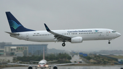 PK-GEE - Boeing 737-8CX - Garuda Indonesia