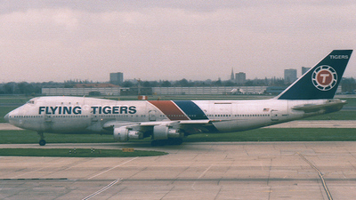 N809FT - Boeing 747-2R7F(SCD) - Flying Tigers