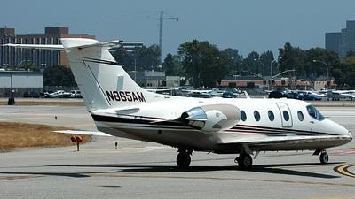 N865AM - Raytheon Hawker 400XP - Private