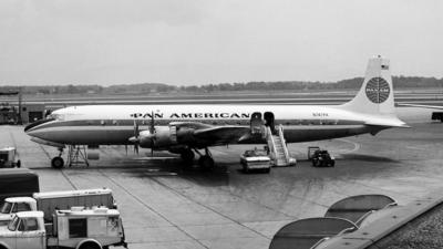N747PA - Douglas DC-7C Seven Seas - Pan Am