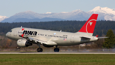 N367NB - Airbus A319-114 - Northwest Airlines