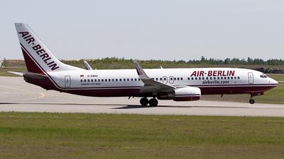 D-ABAC - Boeing 737-86J - Air Berlin