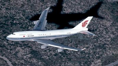 B-2458 - Boeing 747-4J6(M) - Air China